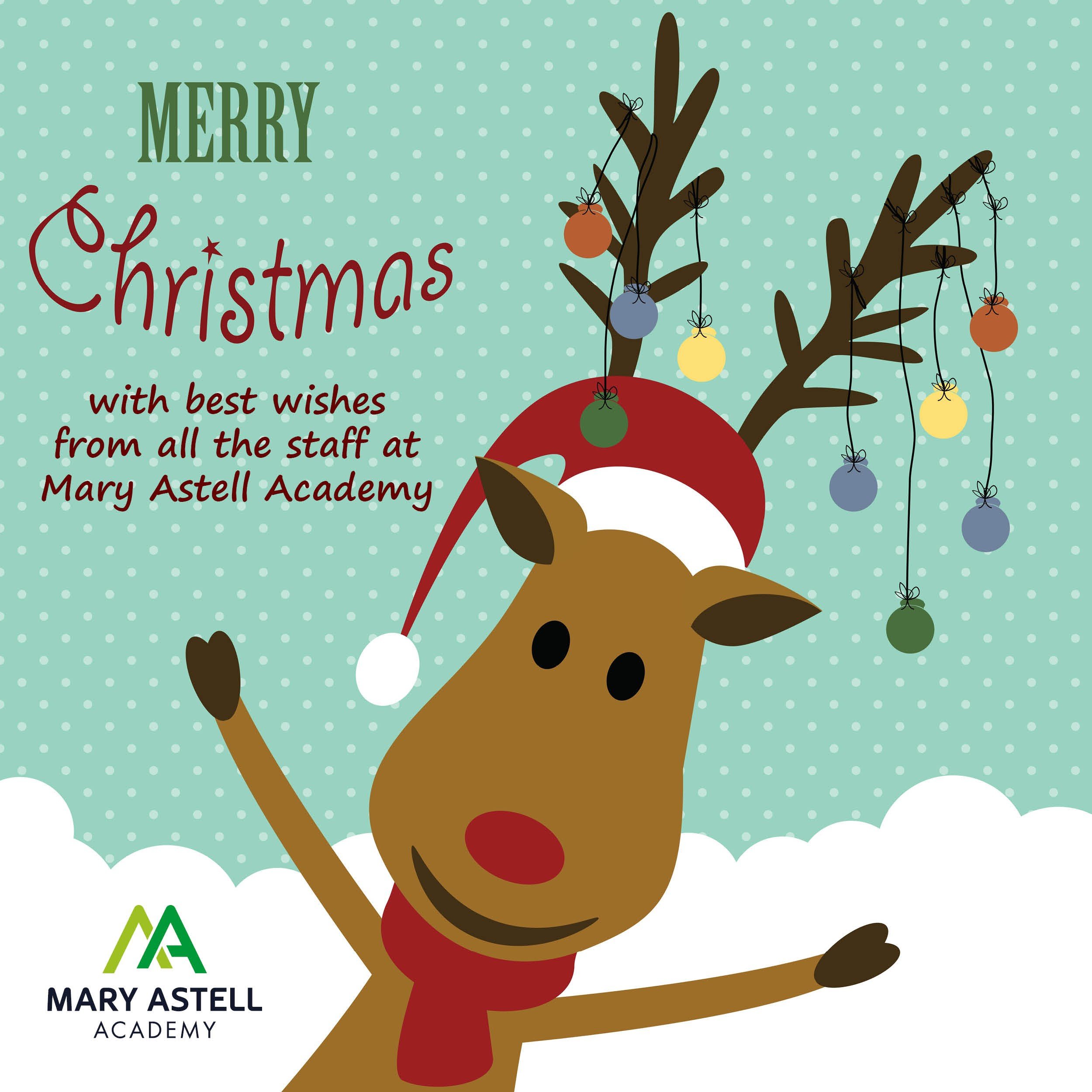 Merry Christmas from Mary Astell Academy!
